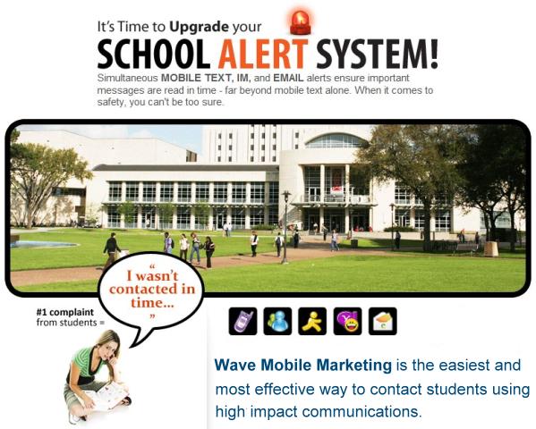 School Alert System Schools