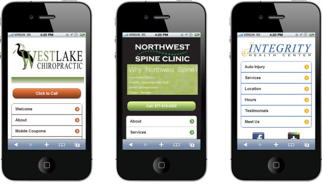 chiro Mobile Marketing for Business   Chiropractors