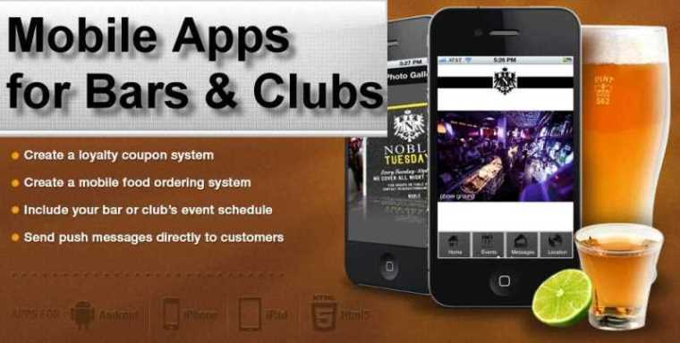 showcase bars Mobile Apps